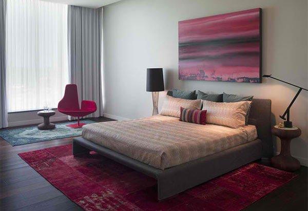 15 Dark Wood Flooring In Modern Bedroom Designs Home Design Lover