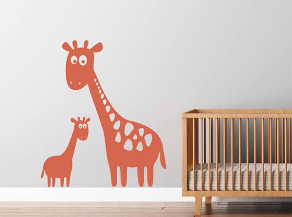 Giraffe Vinyl Wall Decal