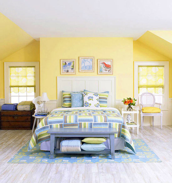 15 Lovely Tropical Bedroom Colors | Home Design Lover
