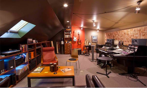 15 design ideas for home music rooms and studios home design lover - Home recording studio design ideas ...