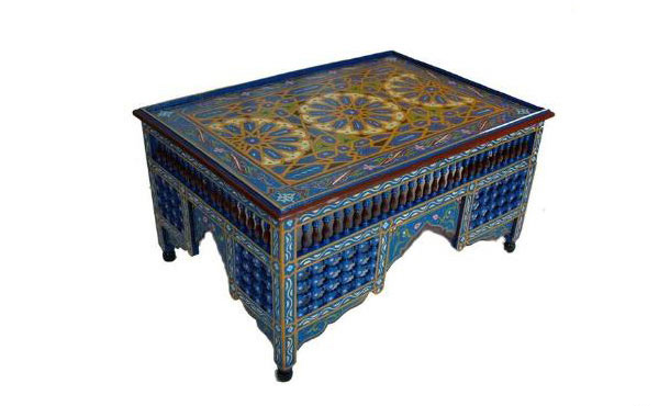 15 Inspiring and Beautiful Moroccan Coffee Tables Home Design Lover