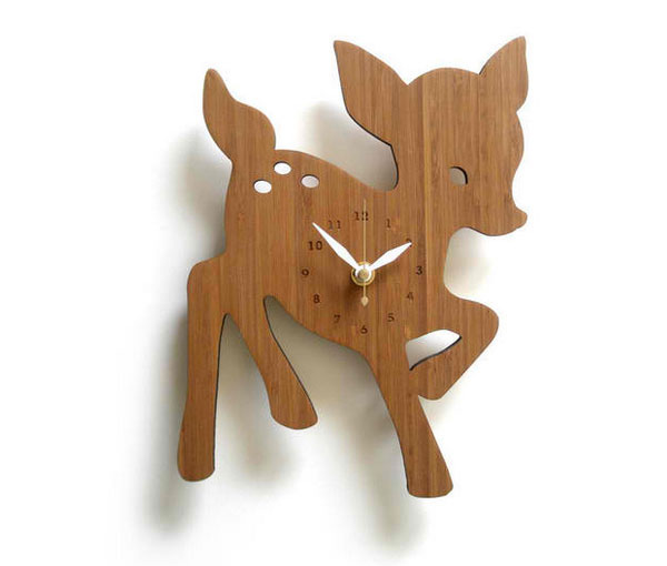 15 Animal Inspired Wall Clock Designs Home Design Lover