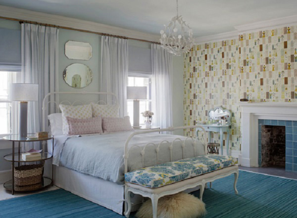 Country Cottage Bedroom. Rethink Design Studio