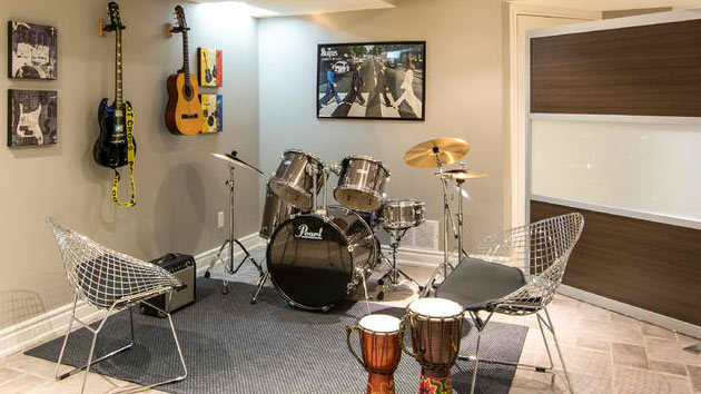 15 Design Ideas For Home Music Rooms And Studios Home