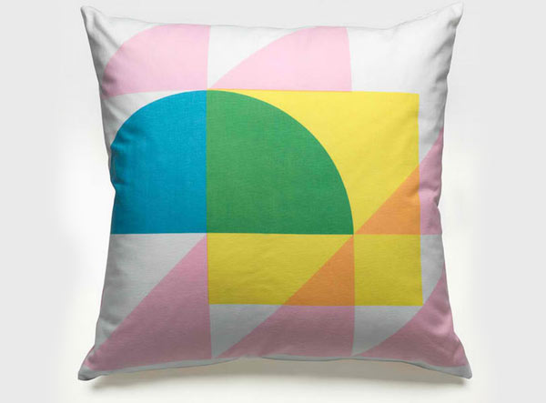 Geometry Pastel Pillow