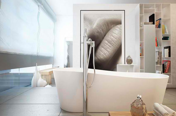 Stylish Modern Bathrooms From Moma Design Home Design Lover