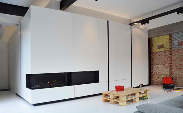 flat panel wall system