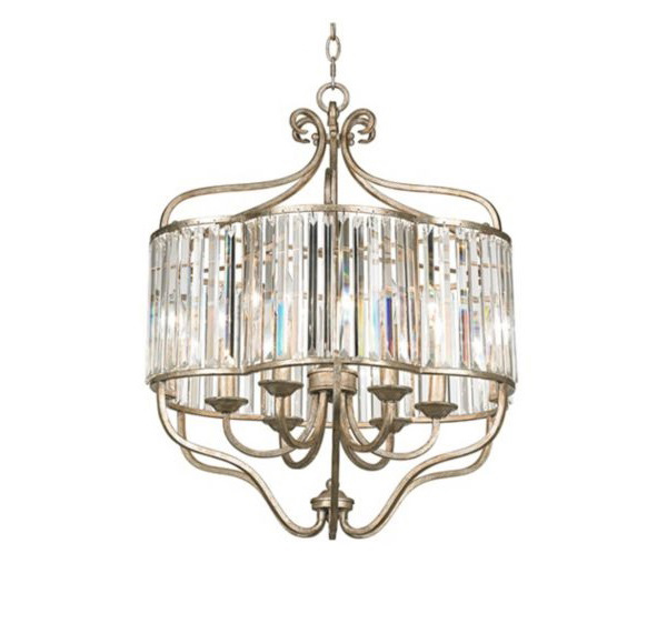 Soft Crystal Pendant Light