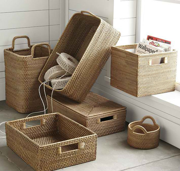 Modern Weave Storage Collection - Natural