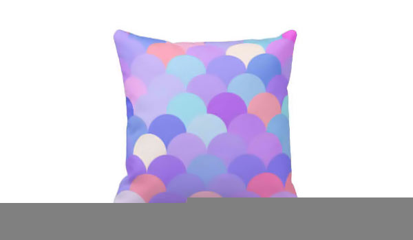 Pastel Scales Pattern 2 Pillows