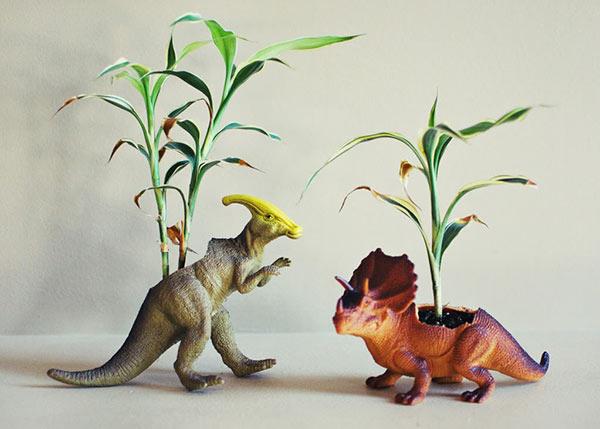 action figure planters