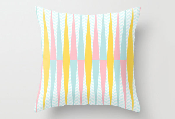 Herringbone Pattern Pillow