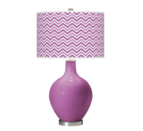 Radiant Orchid Narrow Zigzag