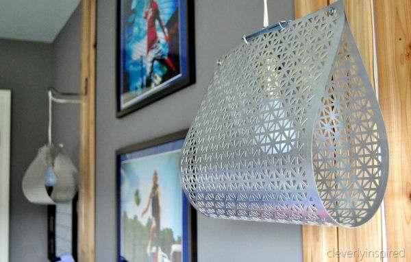 DIY Metal Sheet Light