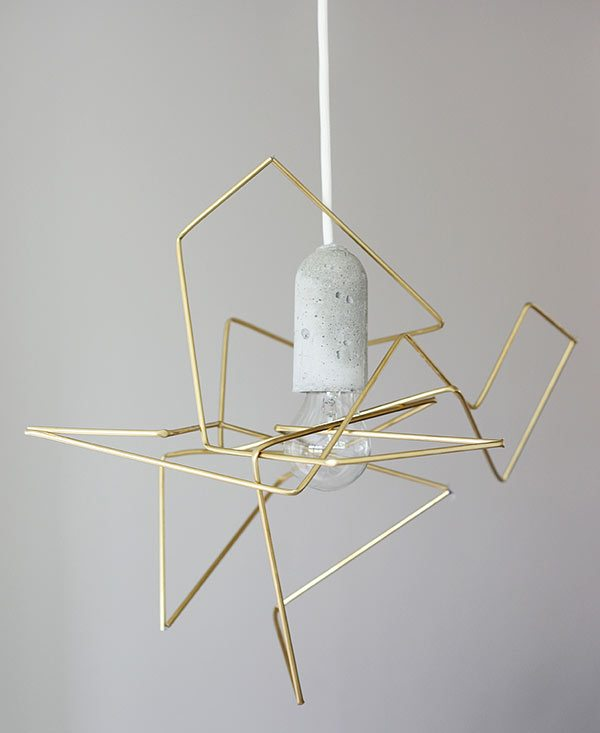 DIY Geometric Light