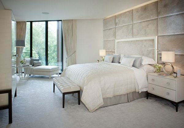 white contemporary bedroom 15 bedroom design ideas home design lover 13839
