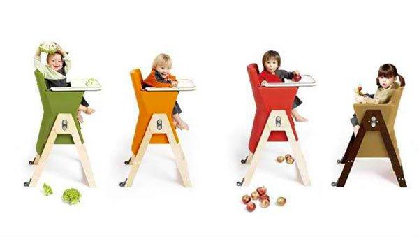 dual-height evolutionary chair