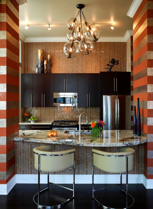 Be glam with mosaic tiles