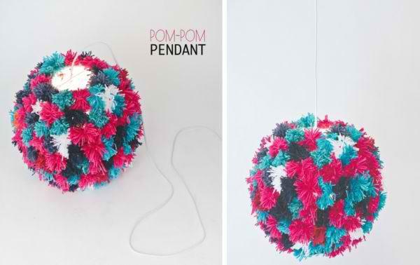 Pom-Pom Pendant