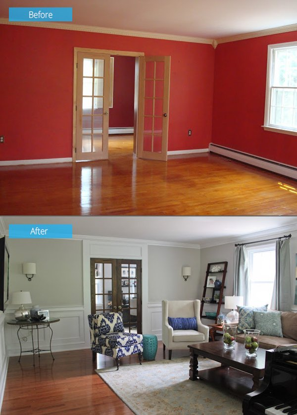 small living room before and after 15 impressive before and after photos of living room 24237