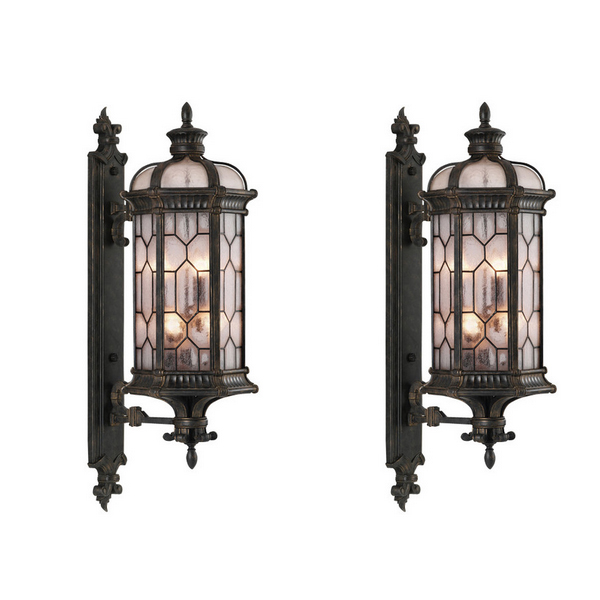 17 Traditional Wall Mounted Outdoor Lighting | Home Design Lover