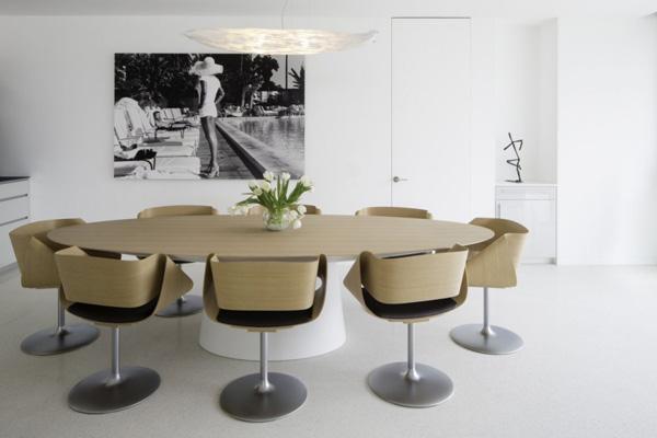 beige dining set