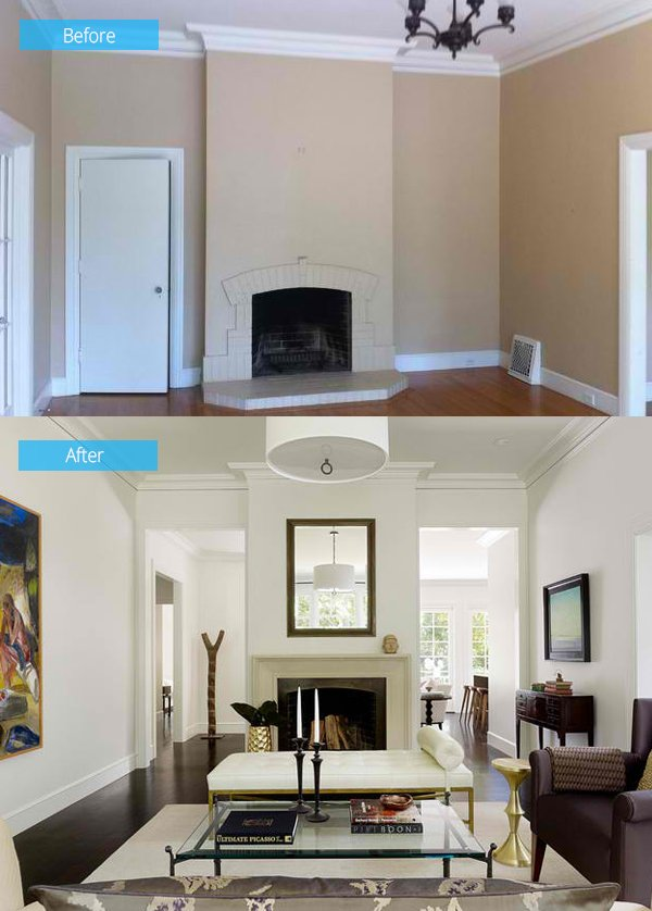before and after living rooms 15 impressive before and after photos of living room 18143