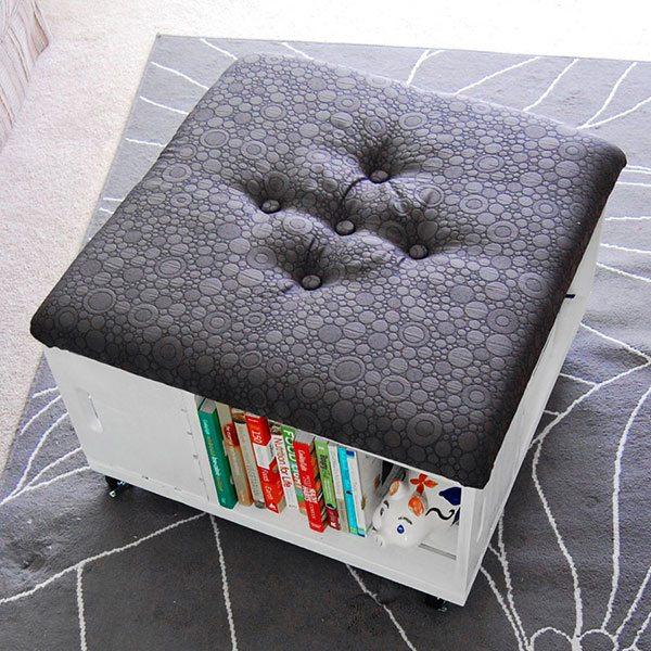 Storage Ottoman Crate