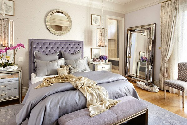 15 Sample Photos of Decorating with Mirrored Furniture in the ...