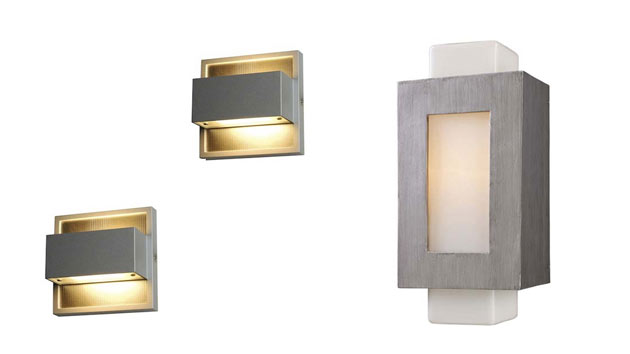 15 Contemporary Wall Mount Outdoor Lighting Fixtures | Home Design Lover
