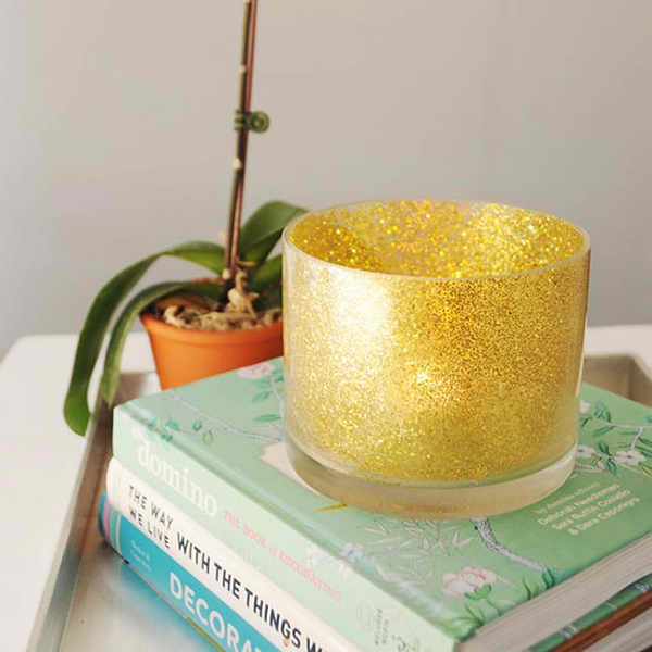 Glitter Votive Holder