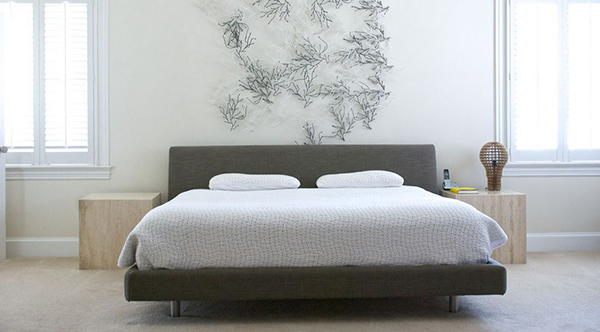 Bedroom Wall Decor On Photo of Painting