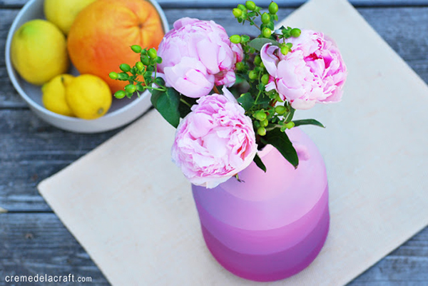 DIY Ombre Juice Jug