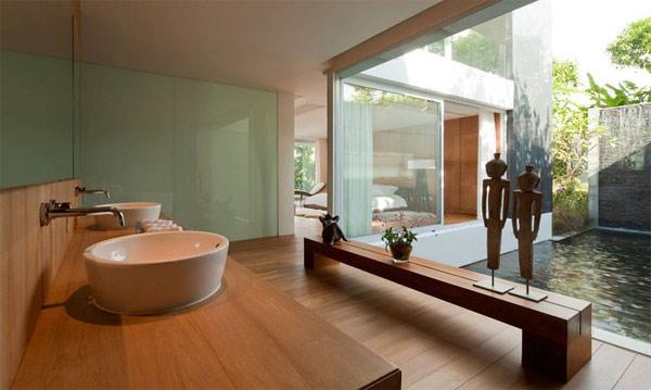 spa area Jacuzzi