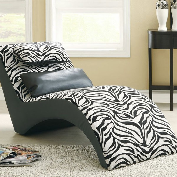Superieur Zebra Lounge Chaise