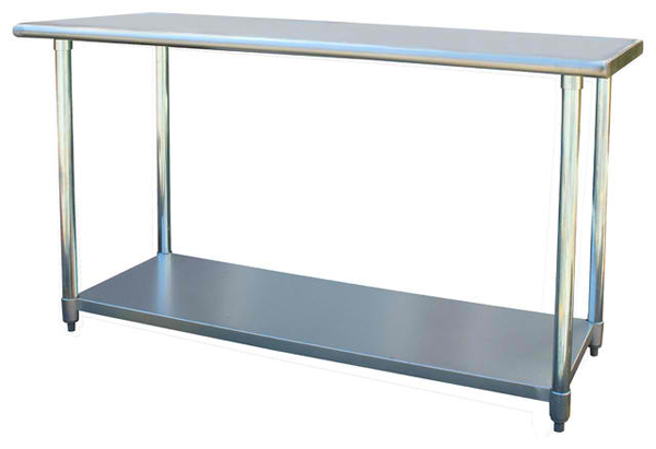 Amazing Designs Of Stainless Steel Tables Home Design Lover - Stain steel table