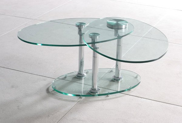 Glass Swivel Coffee Table.20 Inimitable Styles Of Swiveling Glass Coffee Table Home Design Lover