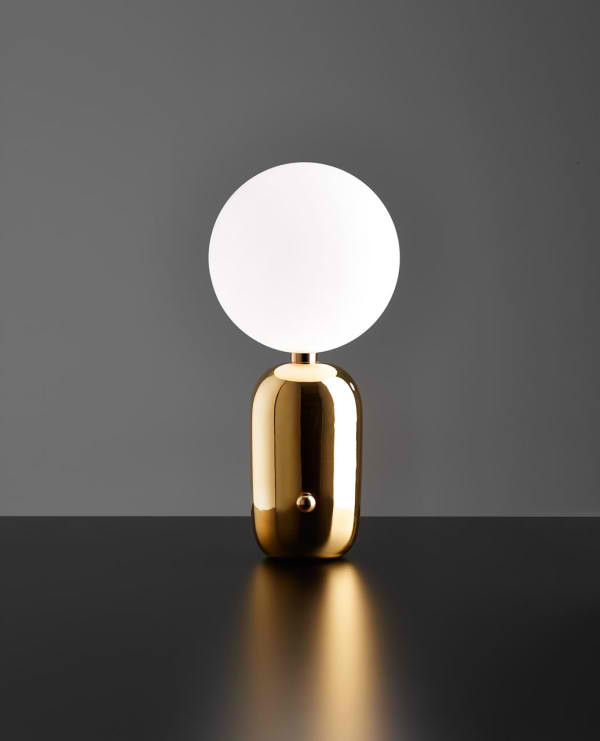 gold table lamp