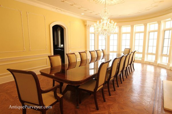 Exceptionnel Large Dining Room Table. Email; Save Photo. Antique
