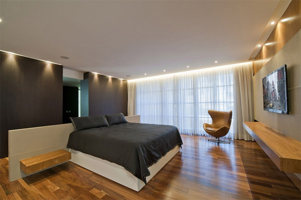 contemporary design bedroom