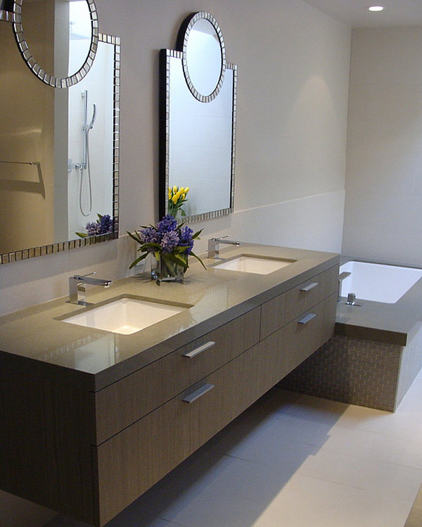 modern bathroom sinks 20 Samples of Classic Bathroom Sinks  Home Design Lover