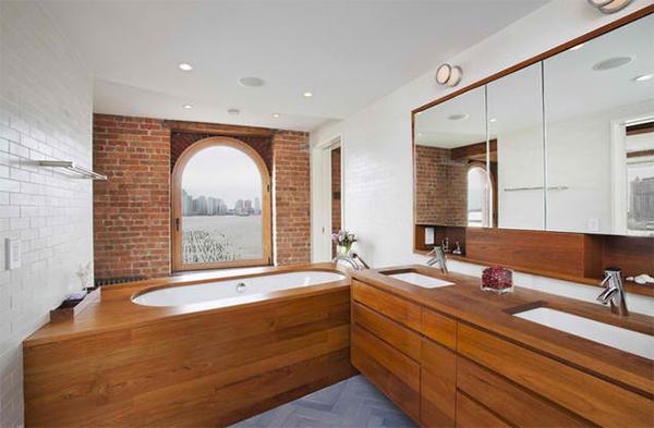 Hudson River Duplex Master Bath