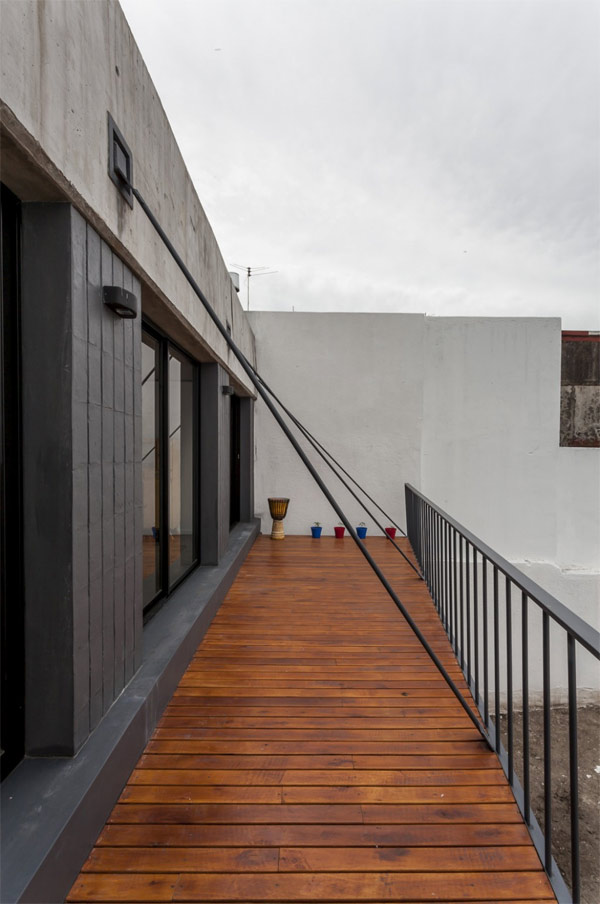 well secured veranda