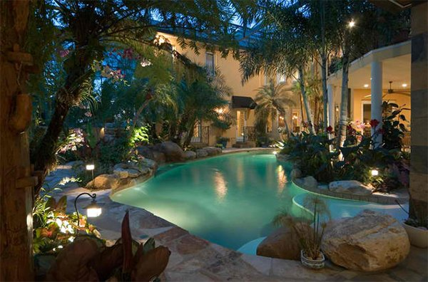 natural pool landscaping