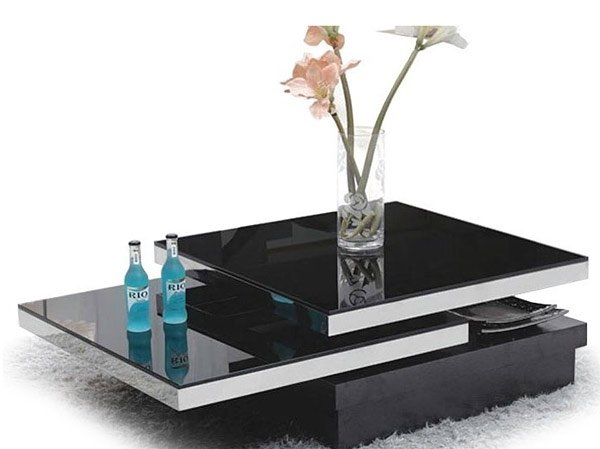 Finest 20 Inimitable Styles of Swiveling Glass Coffee Table   Home Design  WD18