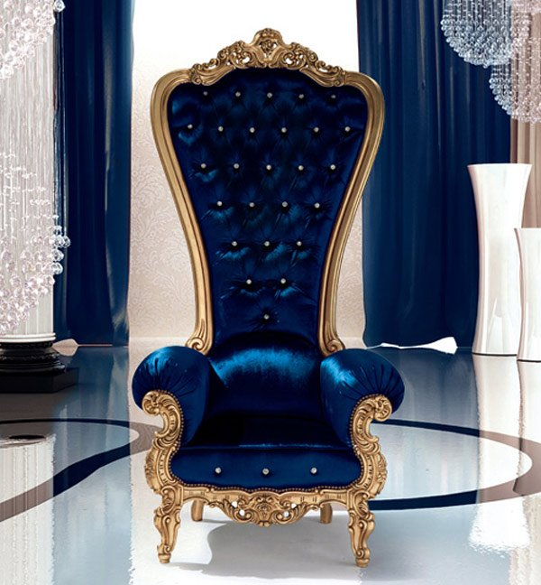 high bach chair throne