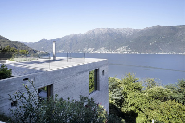 Naturalistic Concrete House