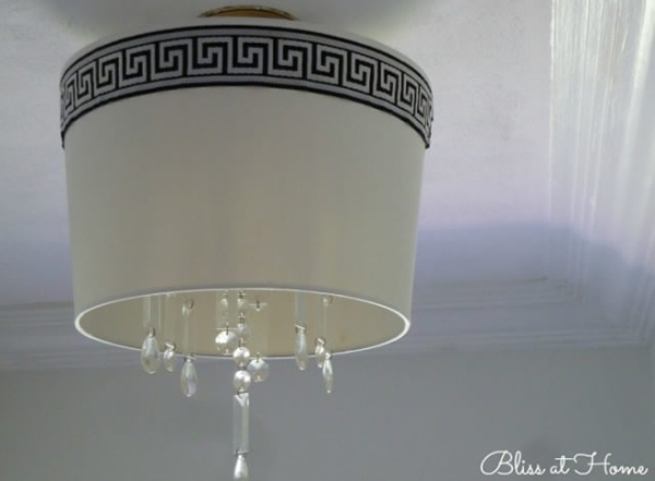 The Drum Shade Chandelier