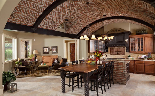 50 Bold And Inventive Dining Rooms With Brick Walls: 20 Superb Ideas On How To Style Your Ceilings