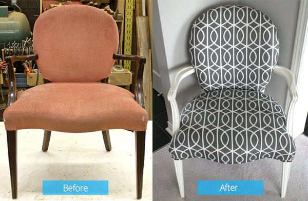 20 Brilliant Before And After Wooden Chair Makeovers